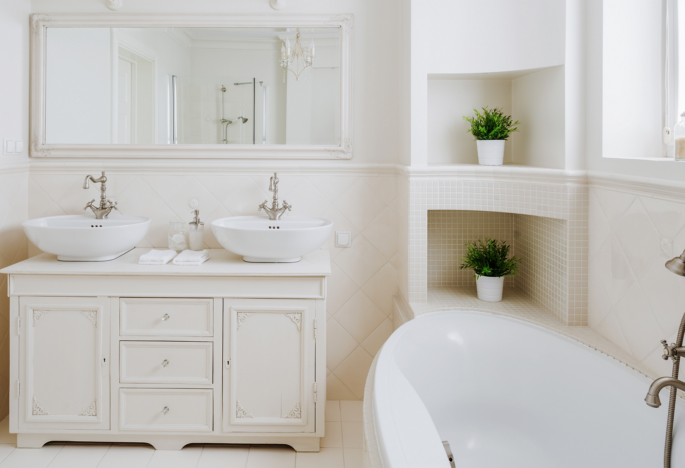 Tips for Creating a Spa-Like Bathroom  in Your Northern Virginia Home